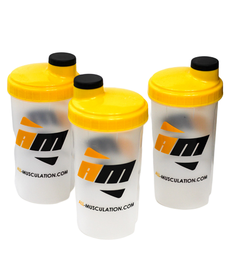 3 shakers all musculation