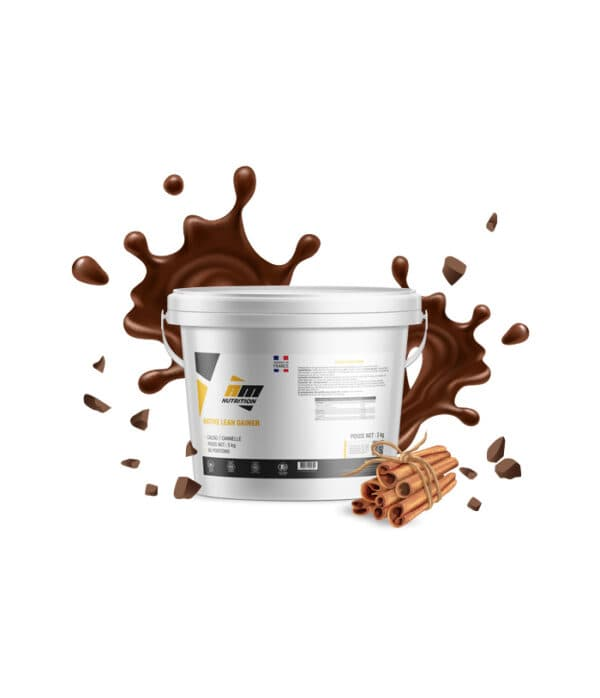 Native Lean Gainer Bio cacao cannelle AM Nutrition