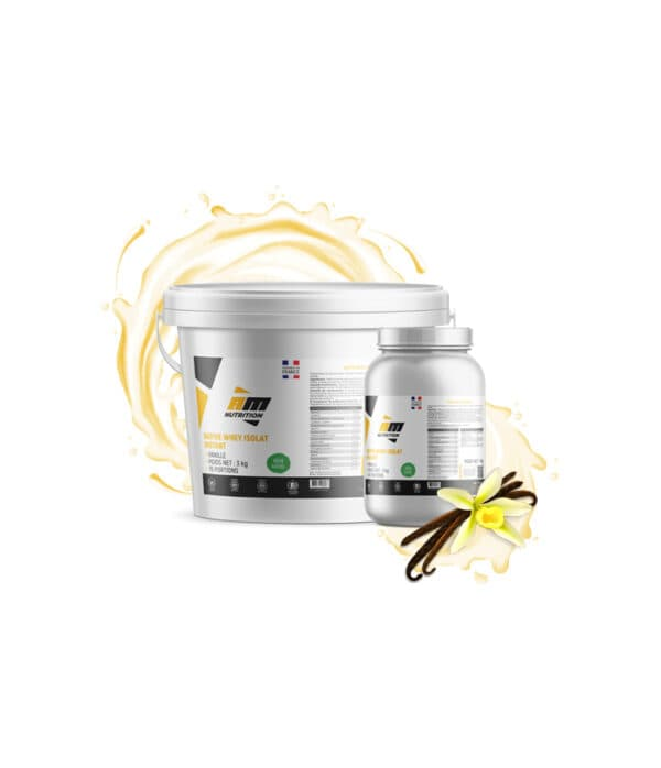 Native Whey Isolat Instant Vanille AM Nutrition